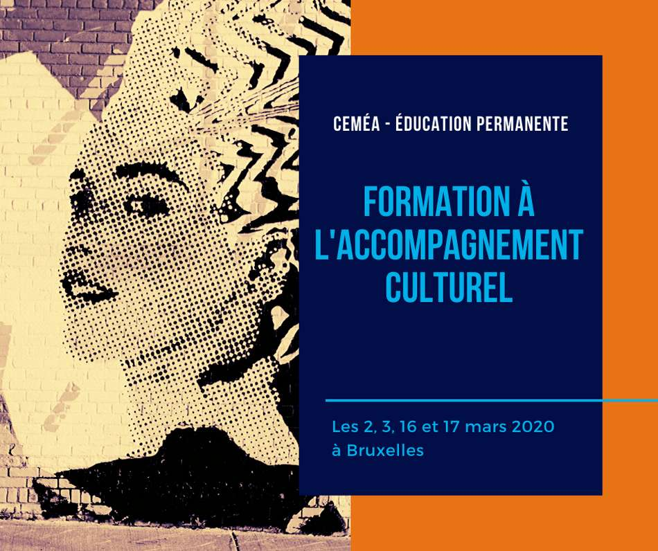 FORMATION A L'ACCOMPAGNEMENT CULTUREL